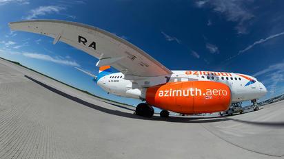 RA-89093 - Azimuth Sukhoi Superjet 100