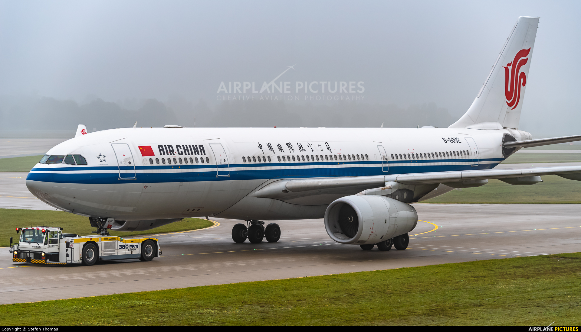 Air China B-6092 aircraft at Munich