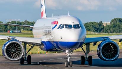 G-TTNI - British Airways Airbus A320 NEO