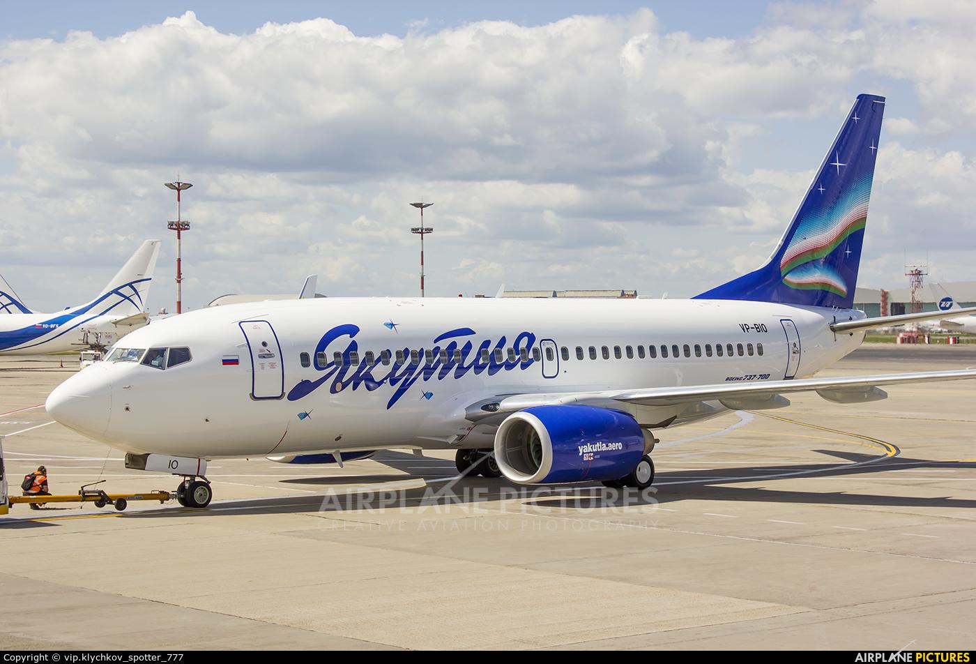 VP-BIO - Yakutia Airlines Boeing 737-700 at Moscow - Vnukovo