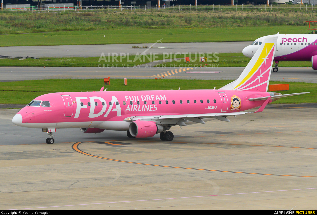 Fuji Dream Airlines JA03FJ aircraft at Fukuoka
