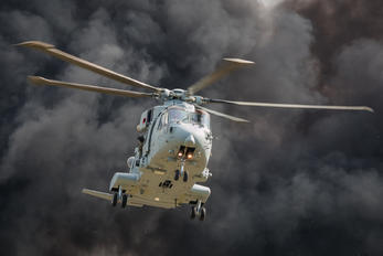ZJ124 - Royal Navy Agusta Westland AW101 411 Merlin HC.3