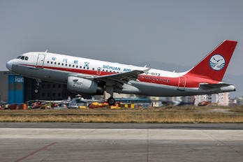 B-6173 - Sichuan Airlines  Airbus A319