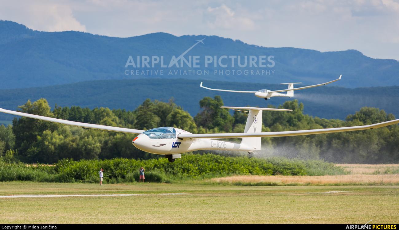 Private D-4215 aircraft at Prievidza