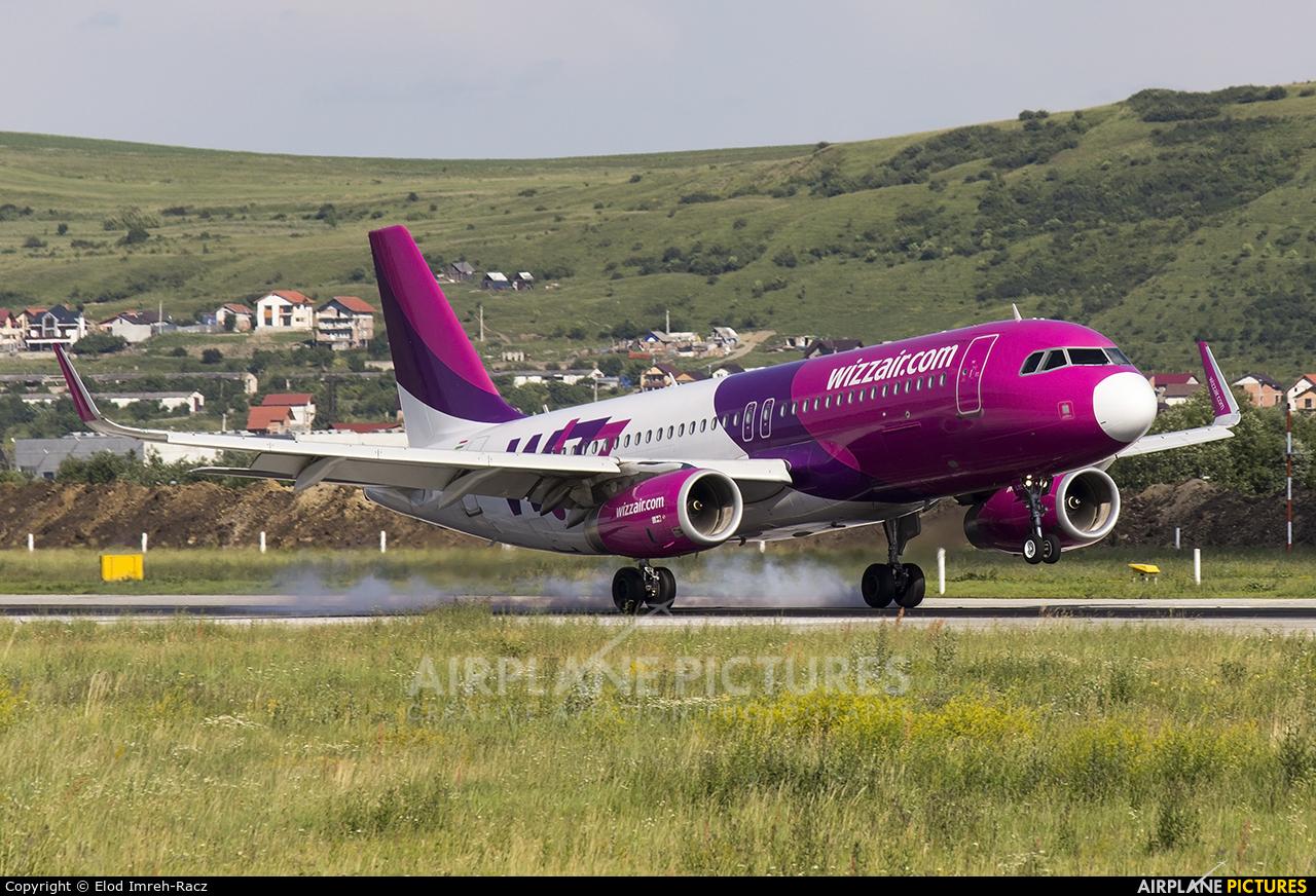 Wizz Air HA-LYC aircraft at Cluj Napoca - Someseni