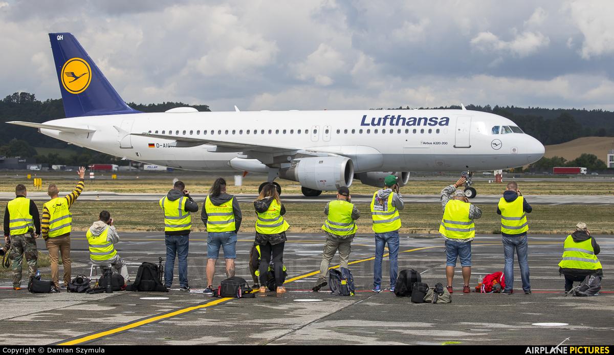 Lufthansa D-AIQH aircraft at Kraków - John Paul II Intl