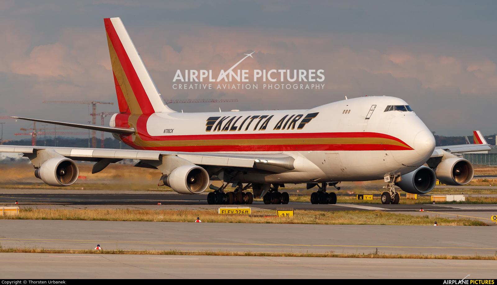 Kalitta Air N706CK aircraft at Frankfurt