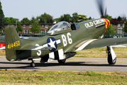 N167F - Scandinavian Historic Flight North American P-51D Mustang aircraft
