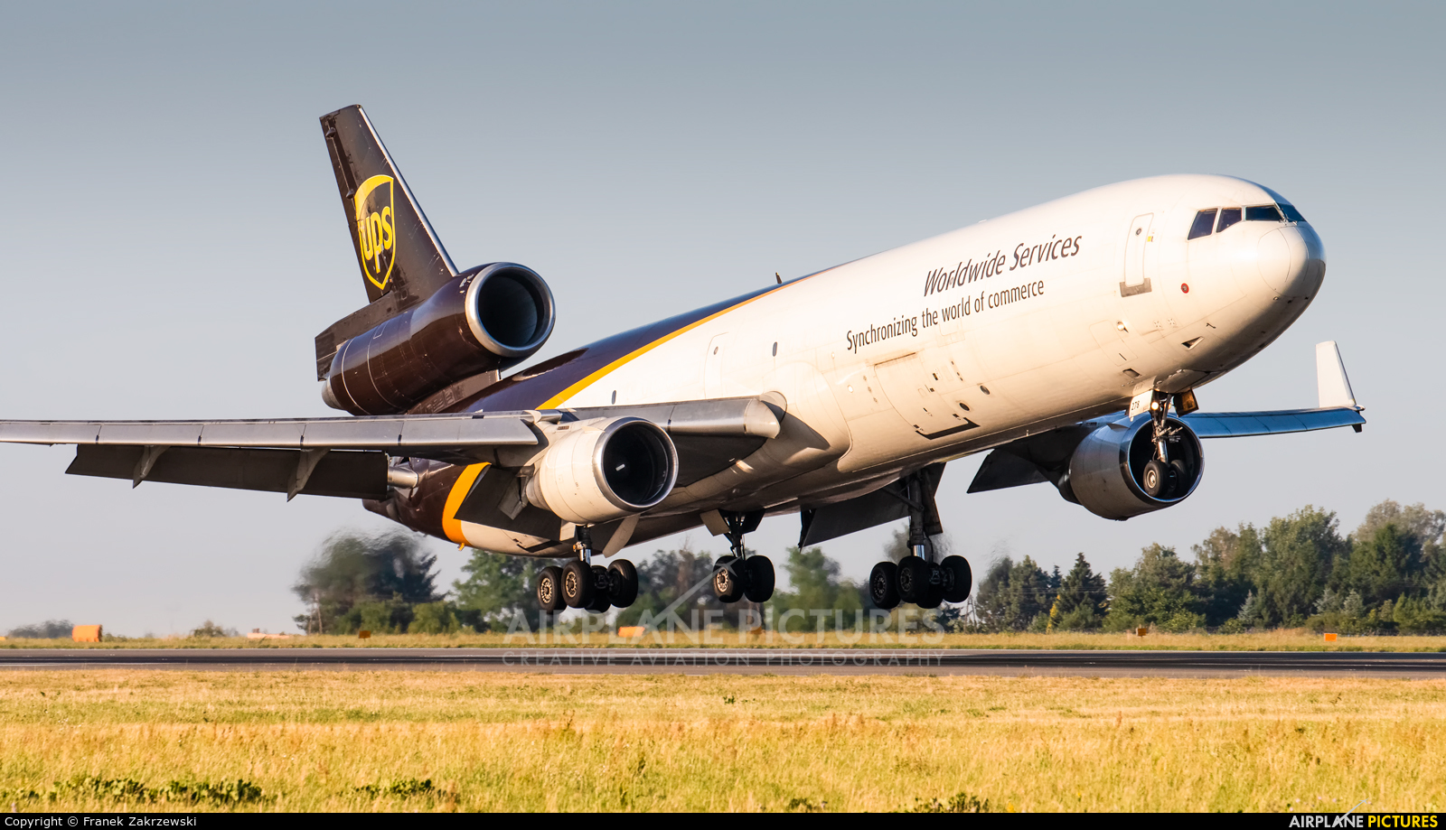 UPS - United Parcel Service N278UP aircraft at Warsaw - Frederic Chopin
