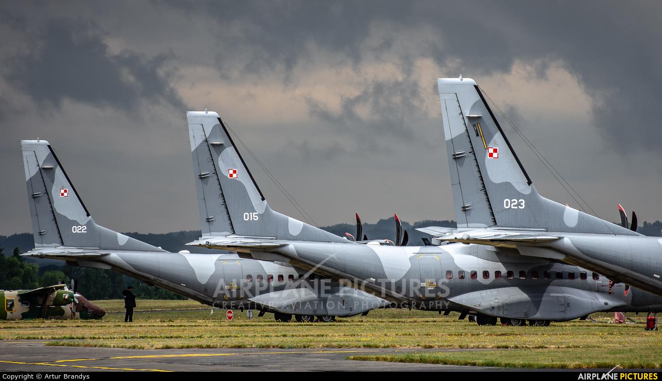 Poland - Air Force 023 aircraft at Kraków - John Paul II Intl