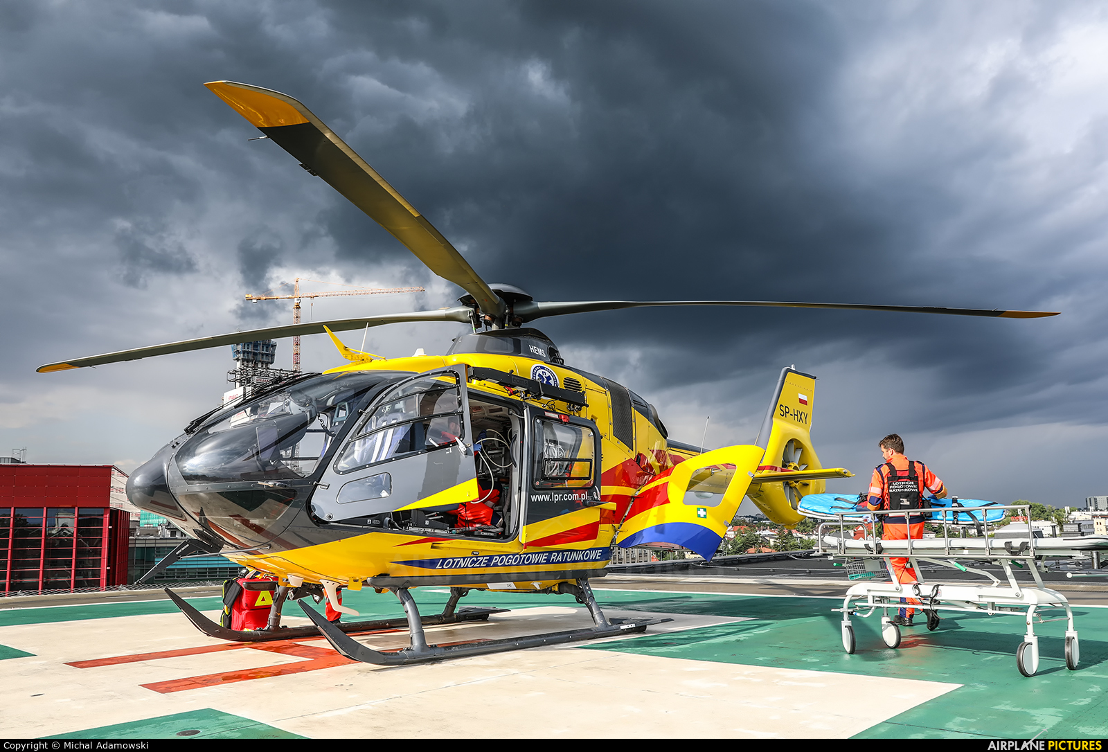 Polish Medical Air Rescue - Lotnicze Pogotowie Ratunkowe SP-HXY aircraft at Off Airport - Poland