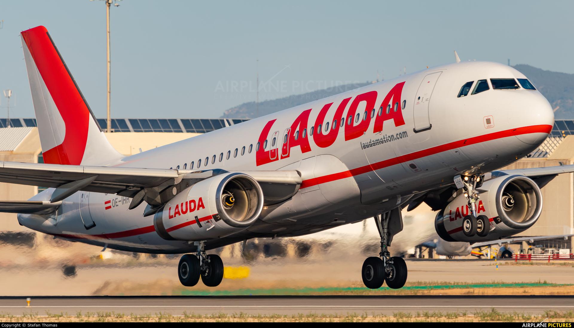 LaudaMotion OE-IHH aircraft at Palma de Mallorca