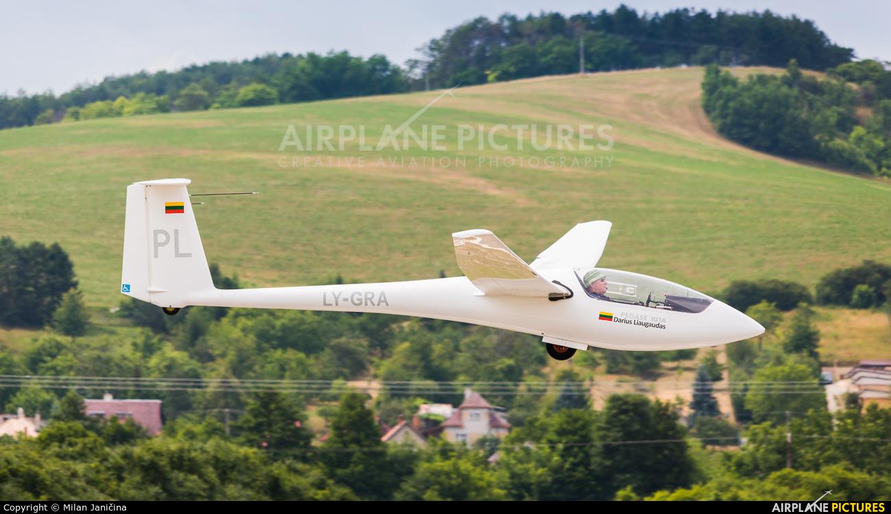 Private LY-GRA aircraft at Prievidza