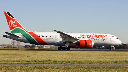 5Y-KZD - Kenya Airways Boeing 787-8 Dreamliner