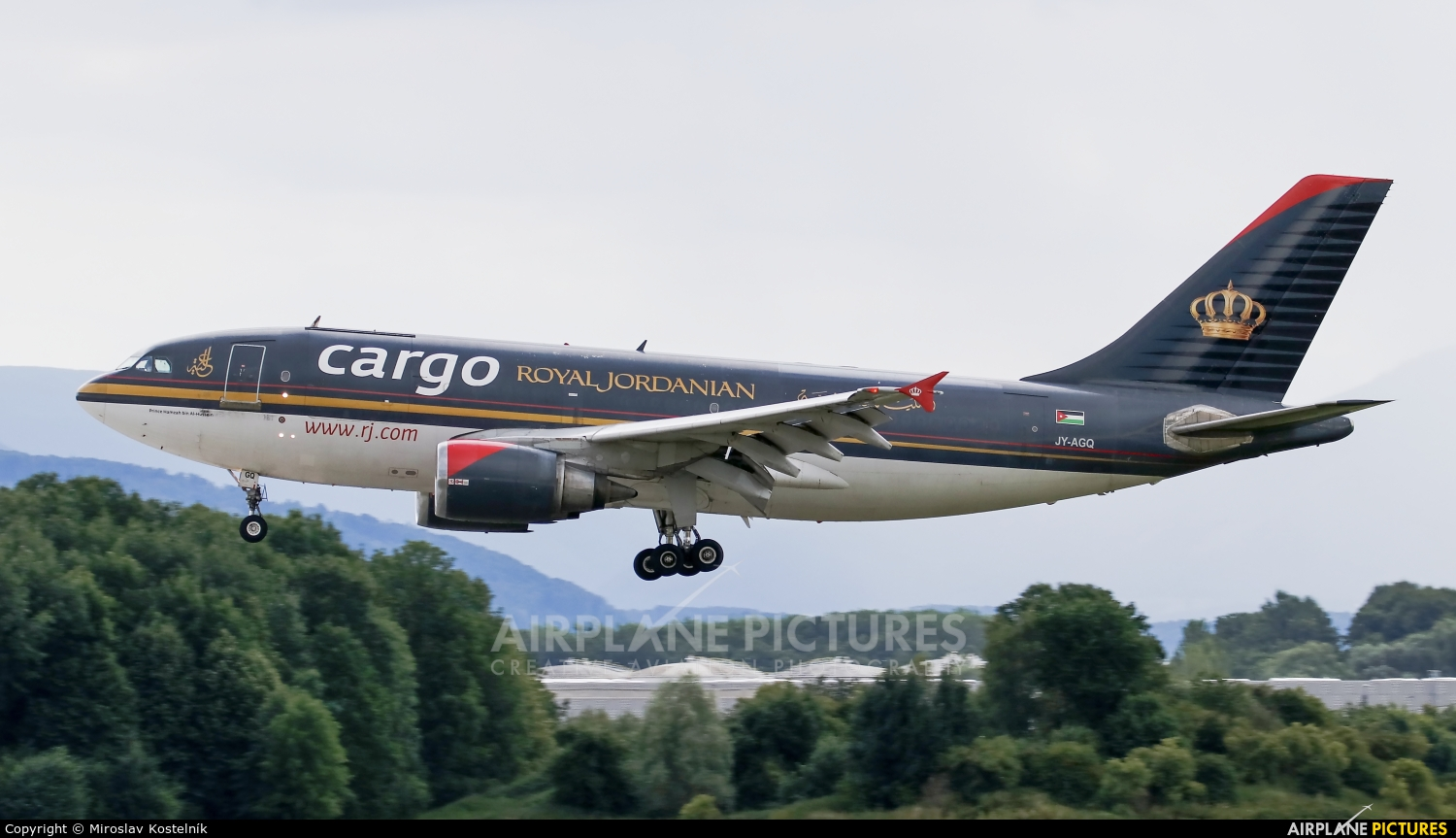 Royal Jordanian Cargo JY-AGQ aircraft at Ostrava Mošnov
