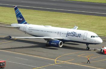 N507JT - JetBlue Airways Airbus A320