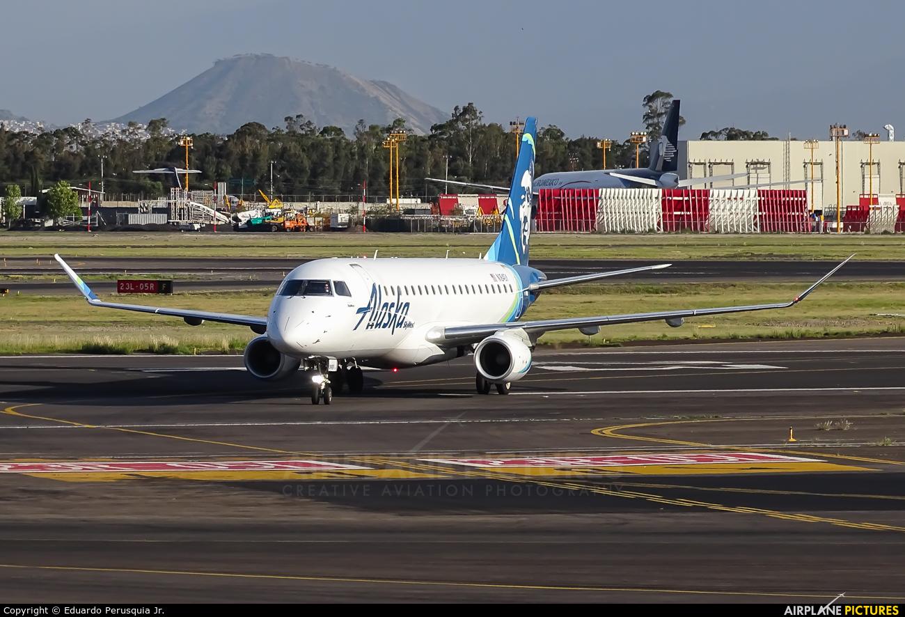 Alaska Airlines - Skywest N184SY aircraft at Mexico City - Licenciado Benito Juarez Intl