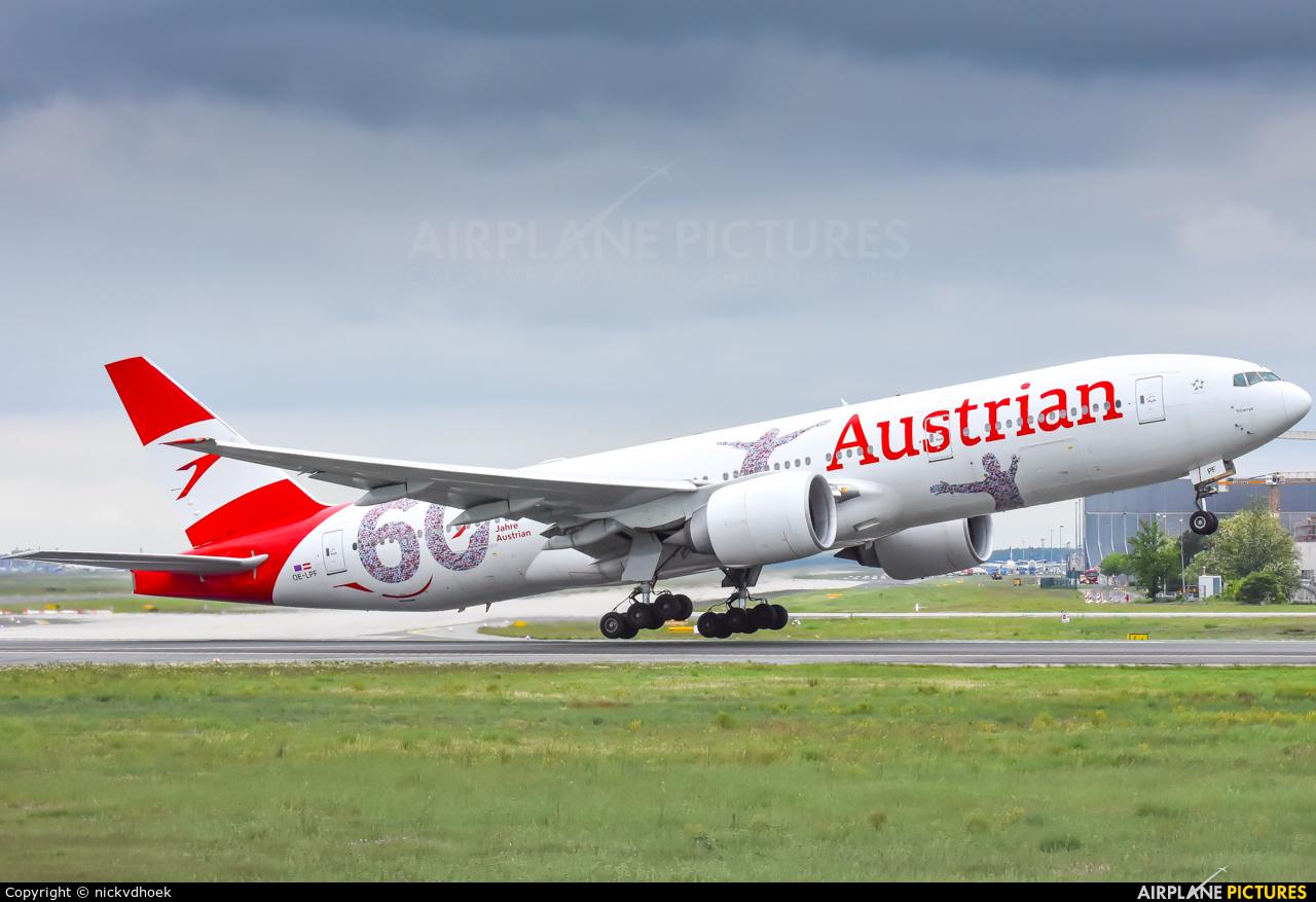 Austrian Airlines/Arrows/Tyrolean OE-LPF aircraft at Frankfurt
