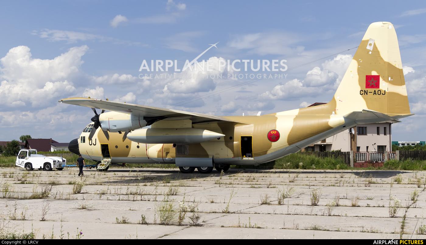 Morocco - Air Force CN-AOJ aircraft at Craiova