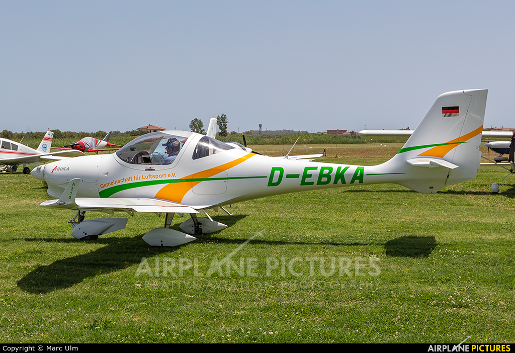 Private D-EBKA aircraft at Sibari Fly