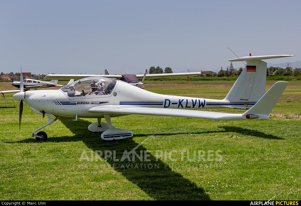 Private D-KLVW aircraft at Sibari Fly