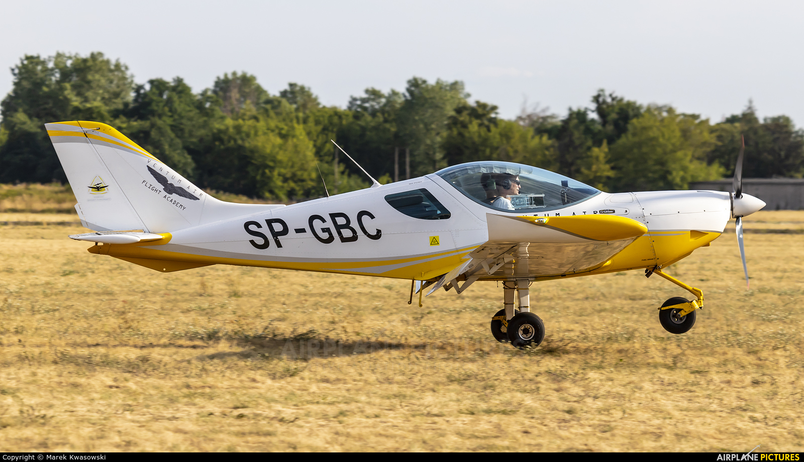 Private SP-GBC aircraft at Warsaw - Babice