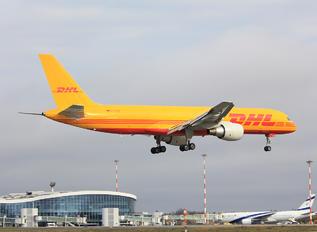 D-ALEQ - DHL Cargo Boeing 757-200F
