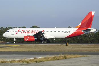 N680TA - Avianca Airbus A320