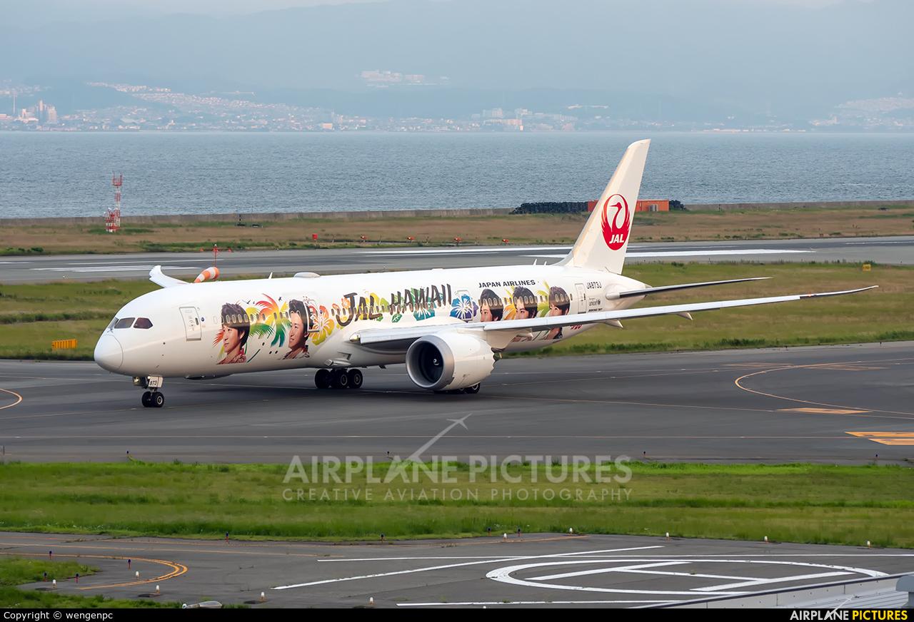 JAL - Japan Airlines JA873J aircraft at Kansai Intl