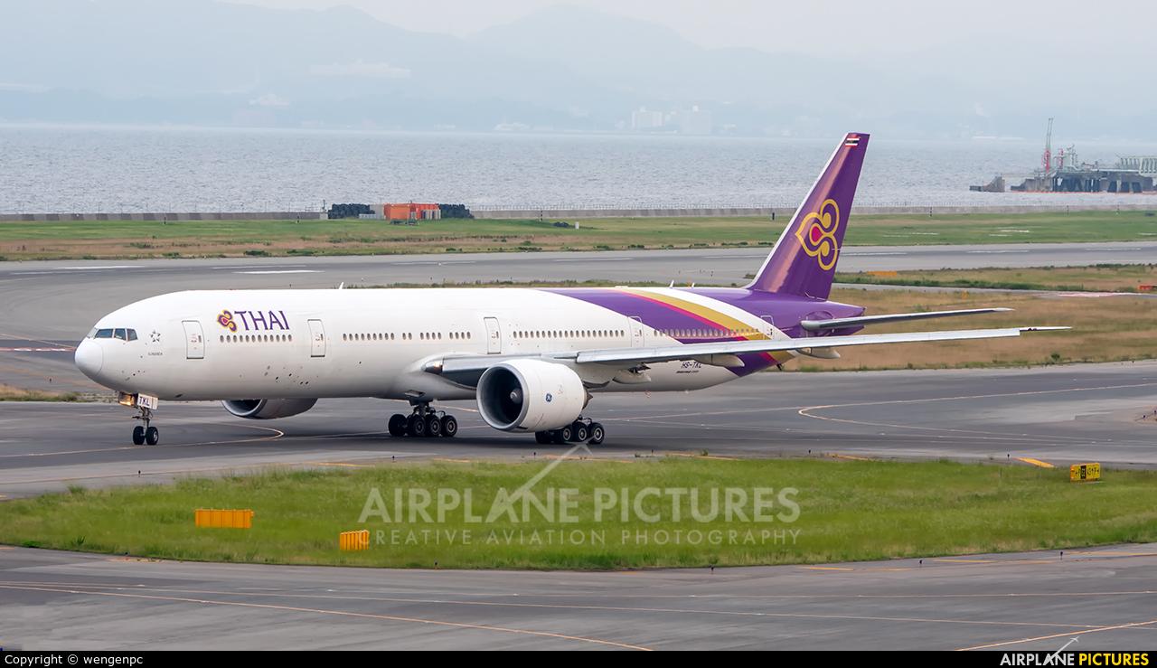 Thai Airways HS-TXL aircraft at Kansai Intl