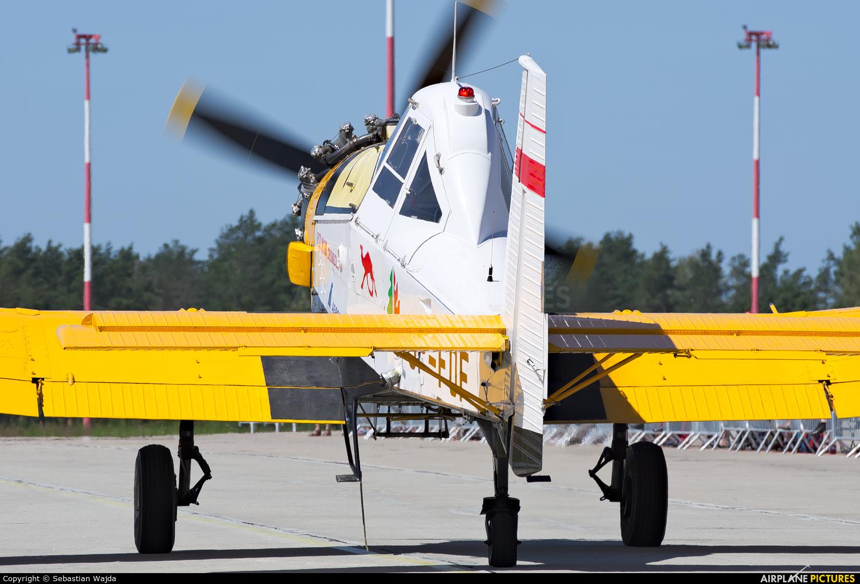 Aerogryf SP-FOF aircraft at Świdwin