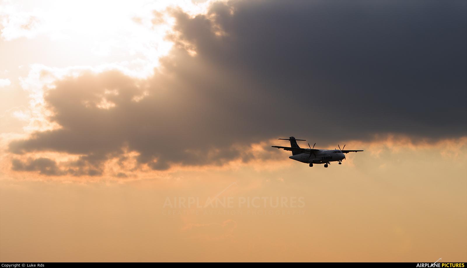 Tarom YR-ATD aircraft at Bucharest - Henri Coandă
