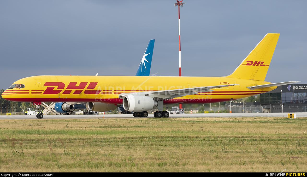 DHL Cargo G-BMRA aircraft at Katowice - Pyrzowice