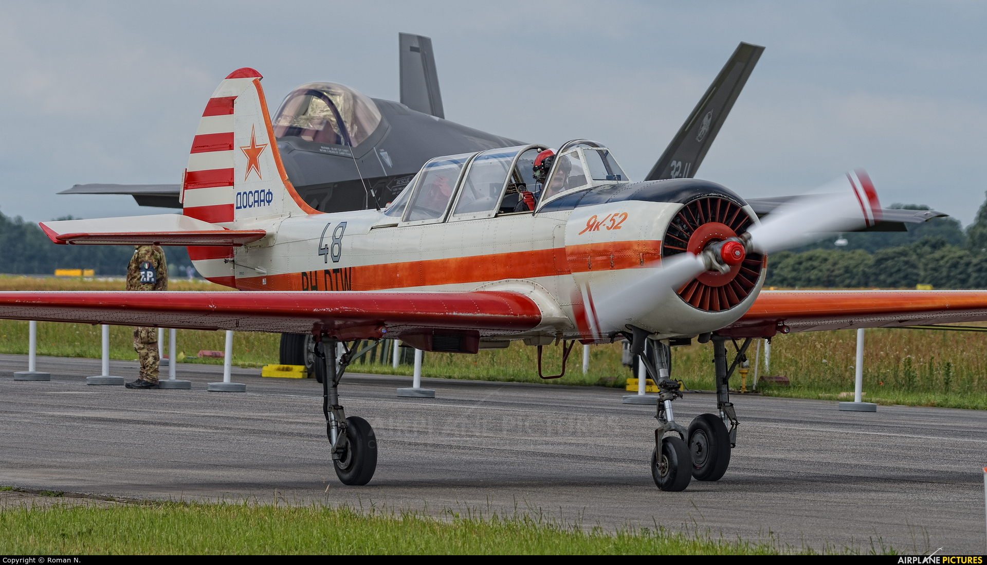 Private PH-DTW aircraft at Uden - Volkel