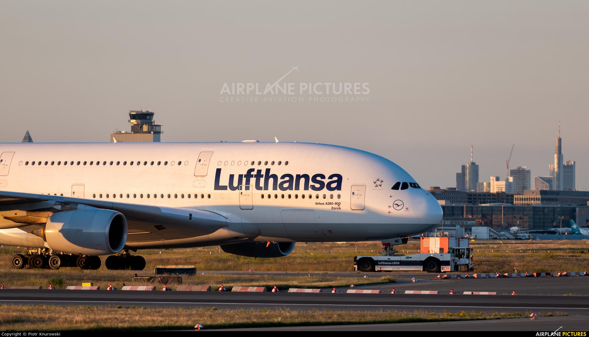 Lufthansa D-AIMF aircraft at Frankfurt