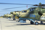 209 - Russia - Air Force Mil Mi-28 aircraft