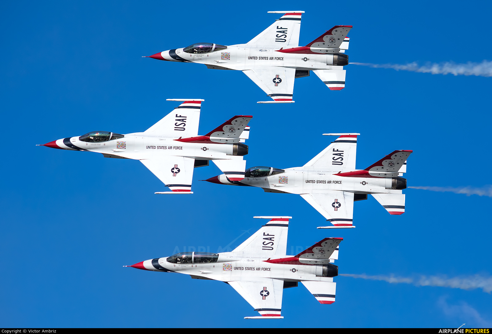 USA - Air Force : Thunderbirds 91-0479 aircraft at Medellin - Jose Maria Cordova Intl