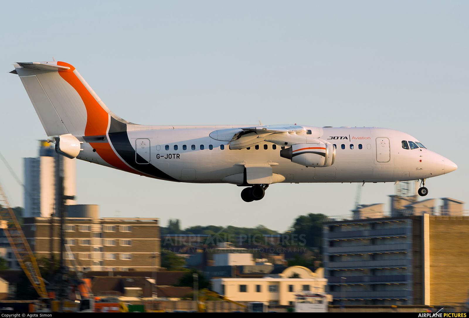 Jota Aviation G-JOTR aircraft at London - City