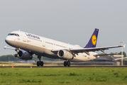D-AISI - Lufthansa Airbus A321 aircraft