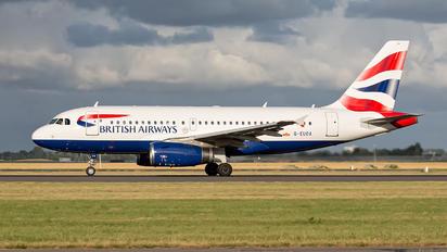 G-EUOA - British Airways Airbus A319