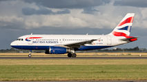 G-EUOA - British Airways Airbus A319 aircraft