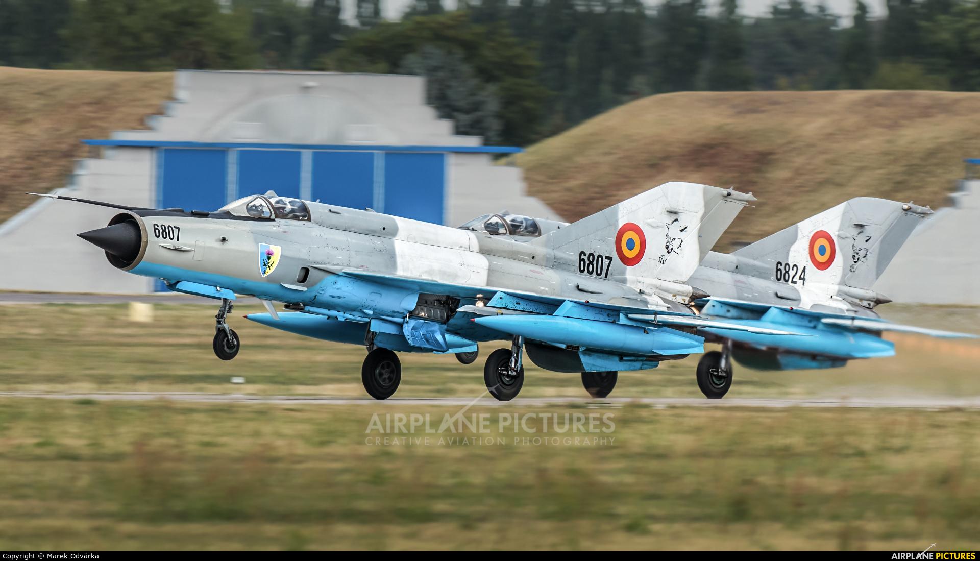 Romania - Air Force 6807 aircraft at Pardubice