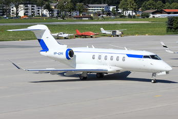 VP-CPF - Alliance Air Bombardier BD-100 Challenger 300 series