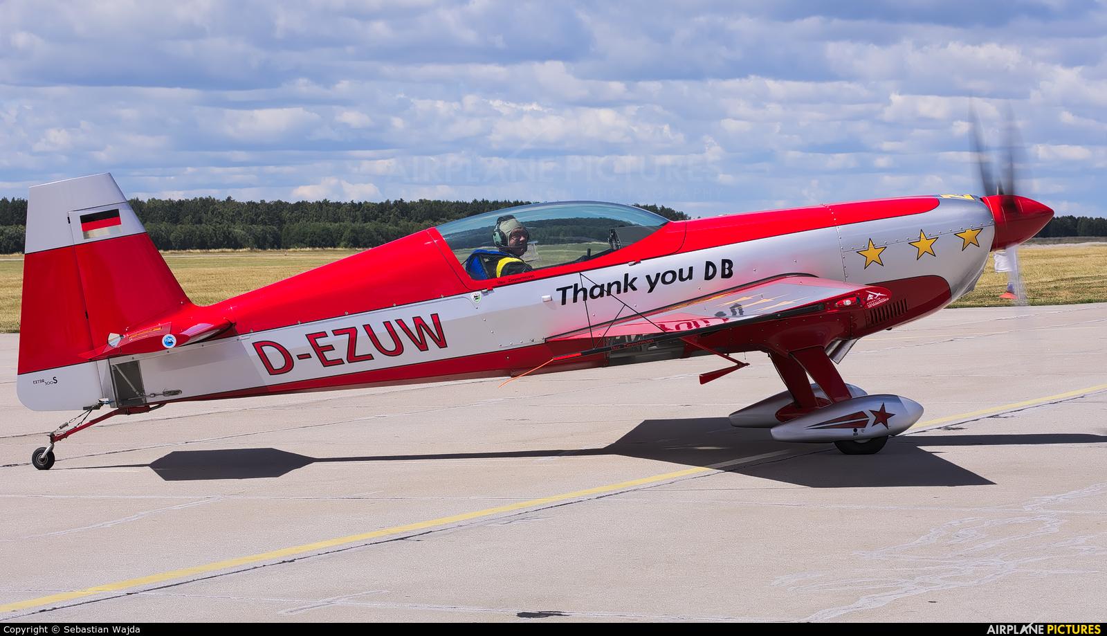Private D-EZUW aircraft at Świdwin