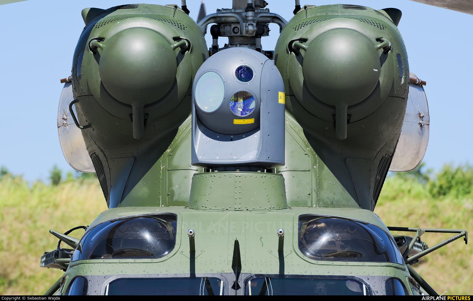 Poland - Army 0601 aircraft at Świdwin