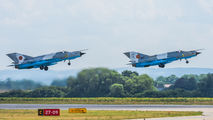 Two Romanian MiG-21s visited Pardubice title=