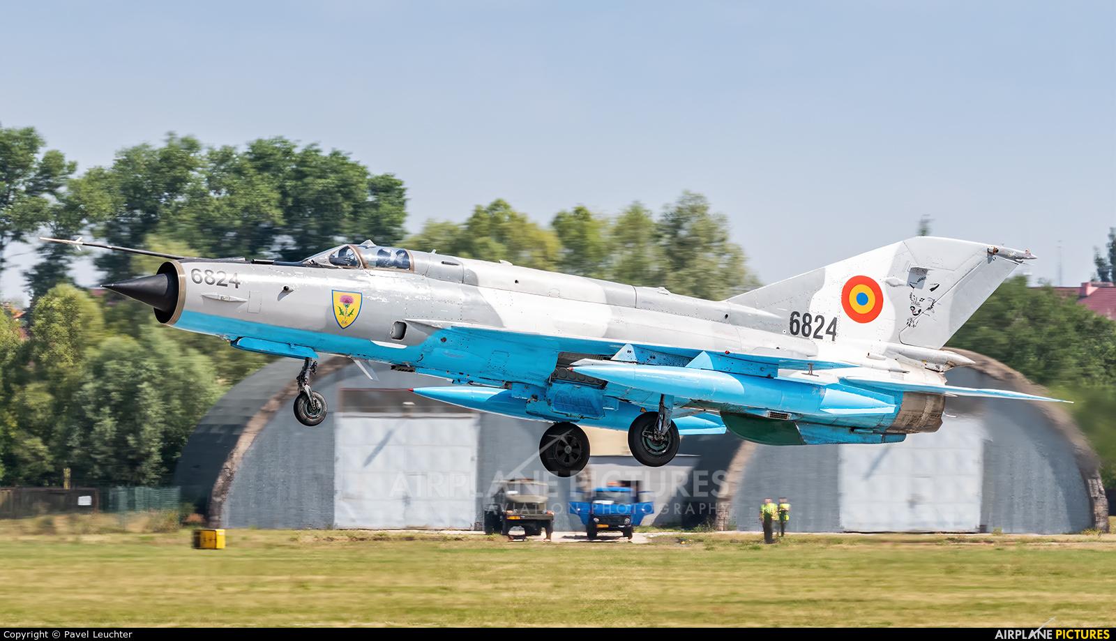 Romania - Air Force 6824 aircraft at Pardubice