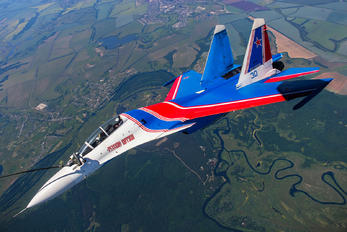 "RF-81701 - Russia - Air Force ""Russian Knights"" Sukhoi Su-30SM"