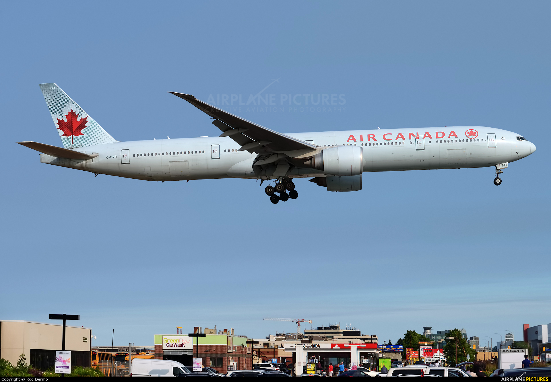 Air Canada C-FIVR aircraft at Toronto - Pearson Intl, ON
