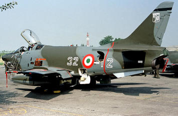 MM6450 - Italy - Air Force Fiat G91Y